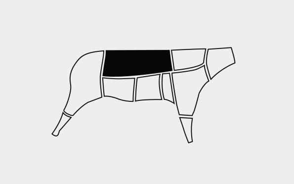Karitsan ulkofile n. 400g (38,50 €/kg)